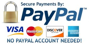 PayPal Major Credit Cards Welcome