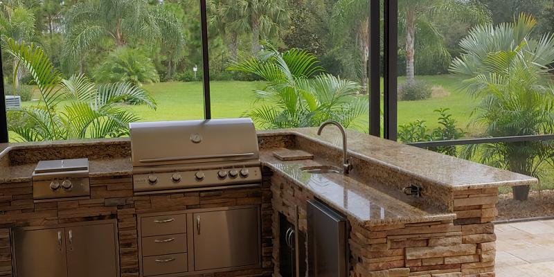 Alpha Outdoor Kitchens Bradenton Sarasota, Outdoor Kitchens In Sarasota Florida